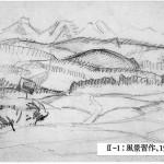 スケッチ・風景習作1908