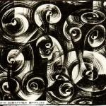 リトグラフ線のリズム1919