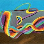水彩・動き出す色彩1954