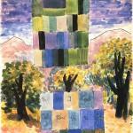 水彩・風景の色彩1946