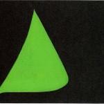 油彩・緑の葉1939