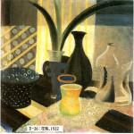 油彩・静物1922