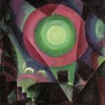 油絵・光輪1915
