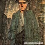 油絵・男1914