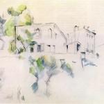 Cezanne_-_Skizze_eines_Hauses