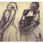 Degas_-_Zwei_Studien_einer_Sängerin