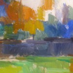 Detail, Paul Cezanne, The Garden at Les Lauves, c