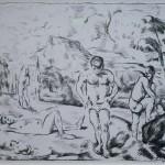 GR018 - Paul Cézanne - 1839-1906 - Bathers - ca 1896-97