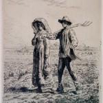 GR169 - Jean-François Millet - 1814-1875 - Going to Work - 1863
