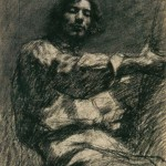 Gustave_Courbet_-_Seated_Young_Man_-_WGA05522