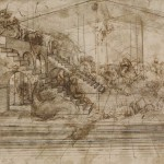 Leonardo-da-Vinci-1452-1519-Study-for-the-background-of-the-Adoration-of-the-Magi