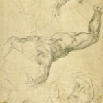 Michelangelo_A-flying-angel-and-other-studies___Selected