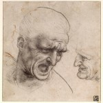 Studies-for-the-Heads-of-Two-Soldiers-in-Battle-of-Anghiari-1504-05