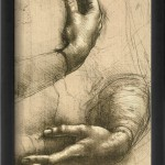 Study of Female Hands, Drawing, Royal Library, Windsor-2