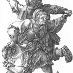 albrechtdurer_peasant_couple_dancing
