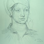 drawing-after-ingres-woman-in-turban
