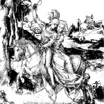 horseback-riding-drawing-albrecht-durer