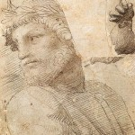 raffael raphael 505px-Raffaello_Sanzio_-_Study_for_the_Head_of_a_Poet_zeichnung drawing tekening