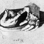 study-of-christs-hands-albrecht-durer