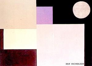 ベン・ニコルソン-抽象画的コンポジション