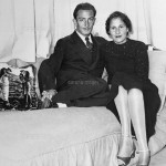 Salvador Dali and Gala Eluard in Dali's Studio
