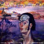 self-portrait-with-raphaelesque-neck-1922