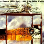 The-Dream-The-Bed-1940-by-Frida-Kahlo