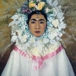 15morimura-4-4320-4336-frida-flower-wreath-and-tears-2001-p02