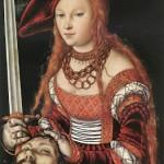 1c Lucas Cranach the Elder (1472-1553) Judith with the Head of Holofernes c 1530