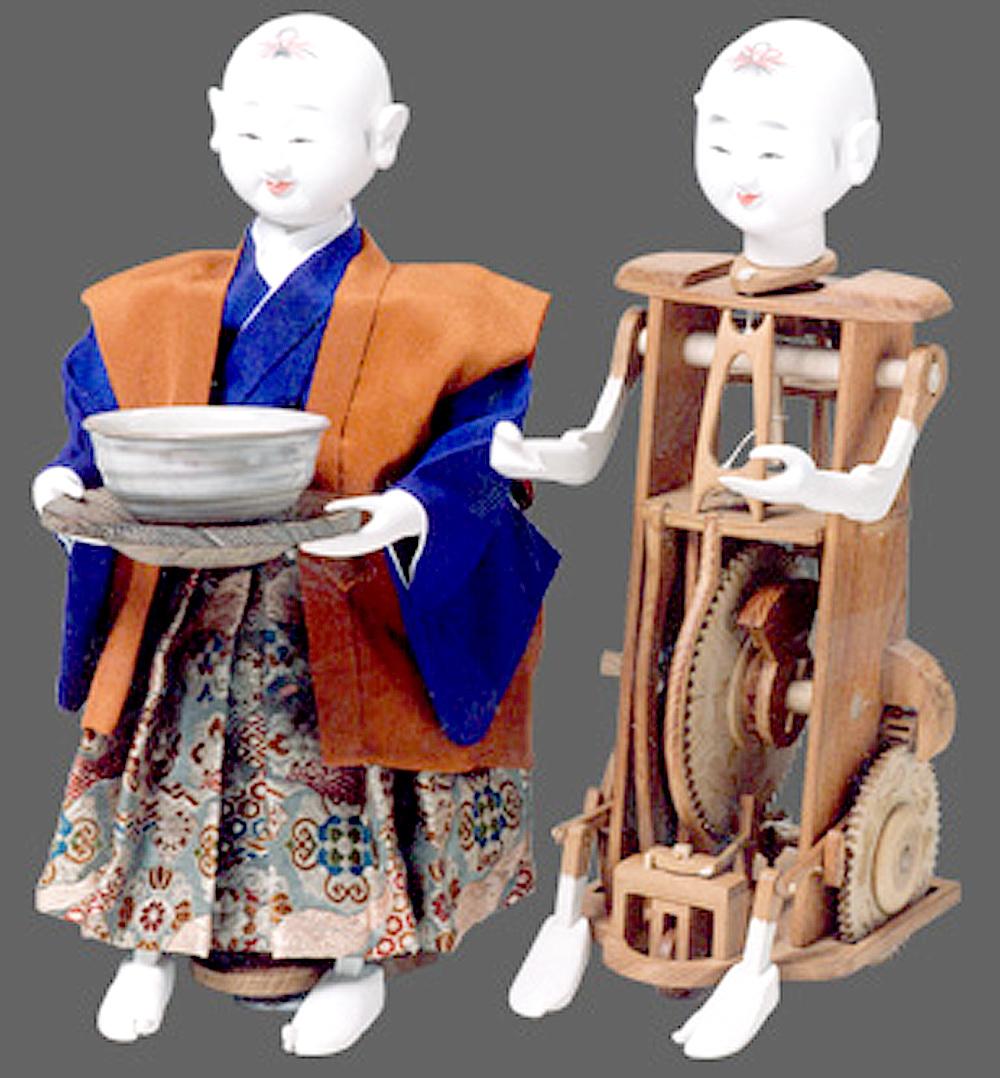 日本におけるからくり人形とその...
