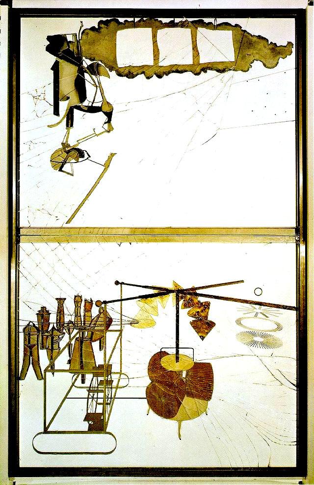 マルセル・デュシャンの≪大ガラス》