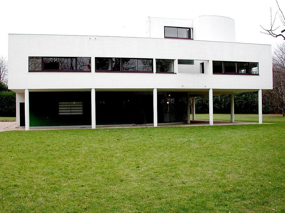 ル・コルビュジェ、サヴオイ邸、1928−30年