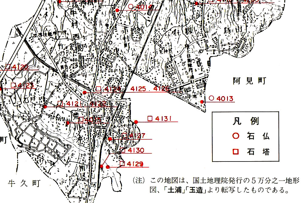 馬頭観音map
